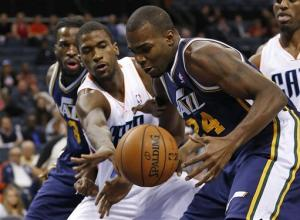 Jefferson scores 26 as Jazz defeat Bobcats 112-102