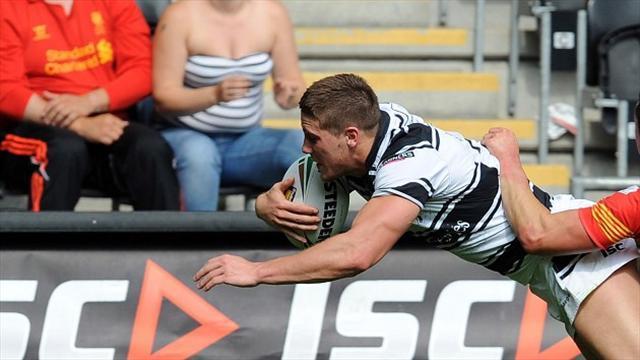 Rugby League - McDonnell guides Hull to victory