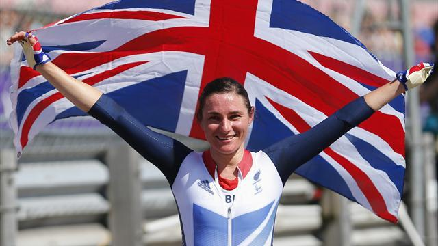 Storey equals British Paralympic record