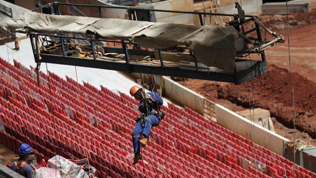 World Cup - Brazil to miss FIFA deadline for World Cup stadiums