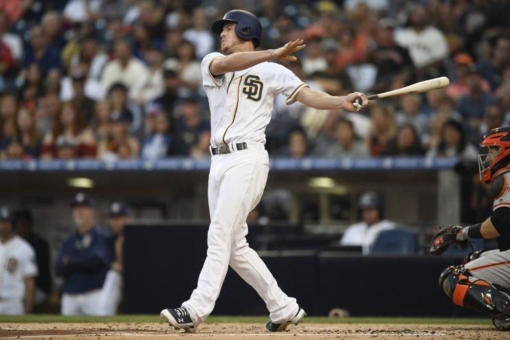 Wil Myers committed to the Padres for six seasons. (Getty Images/Andy Hayt)