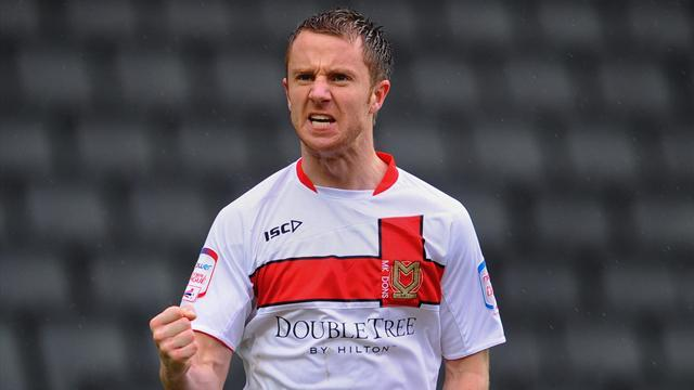 League One - Groin op for MK Dons forward Bowditch