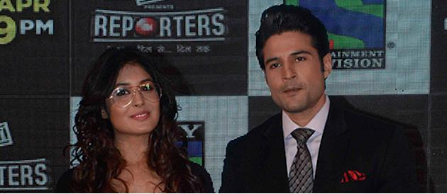 Rajeev Khandelwal And Kritika Kamra At New Serial Reporters TV Launch