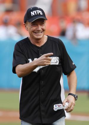 FILE - This July 9, 2011 file photo shows actor David Cassidy after throwing out a ceremonial first pitch before a baseball game between the Florida Marlins and the Houston Astros, in Miami. Cassidy was arrested Friday Jan. 10, 2014m, in Southern California on suspicion of drunken driving. (AP Photo/Wilfredo Lee, file)