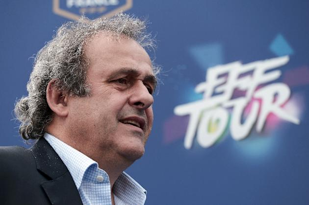 Michel Platini is to stand as a candidate for the presidency of world football's governing body, FIFA