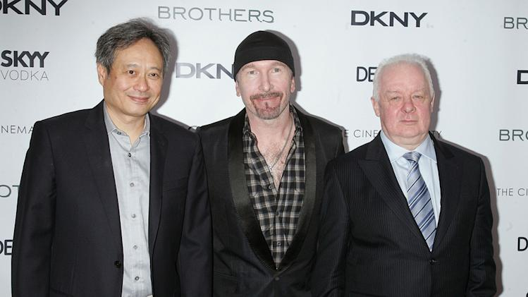 Brothers NYC Screening 2009 Ang Lee The Edge Jim Sheridan