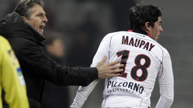 Ligue 1 - Nice striker Maupay out for rest of the season