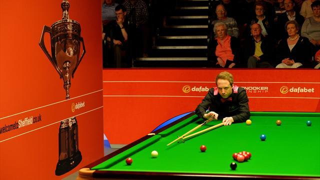 Snooker - Wasley upsets Ding in Crucible thriller