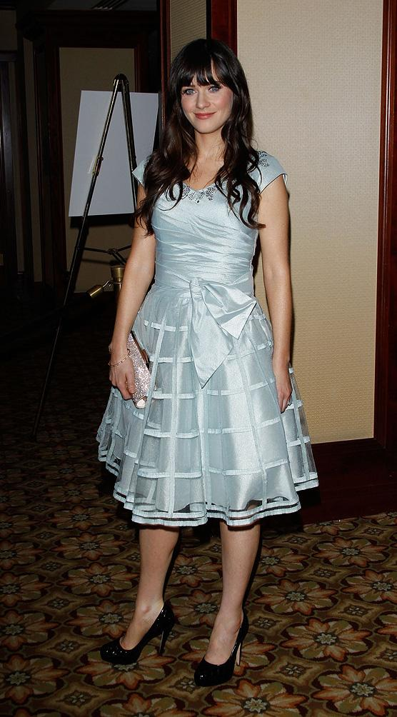24th Annual American Society of Cinematographers Awards For Outstanding Achievement 2010 Zooey Deschanel