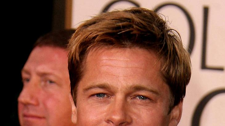 Brad Pitt at the 64th annual Golden Globe Awards.
