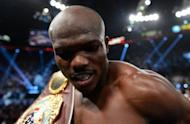 Undefeated American Tim Bradley, pictured on June 9, has chosen to keep the World Boxing Organization welterweight crown he took from Filipino icon Manny Pacquiao and forfeit the WBO junior welterweight crown