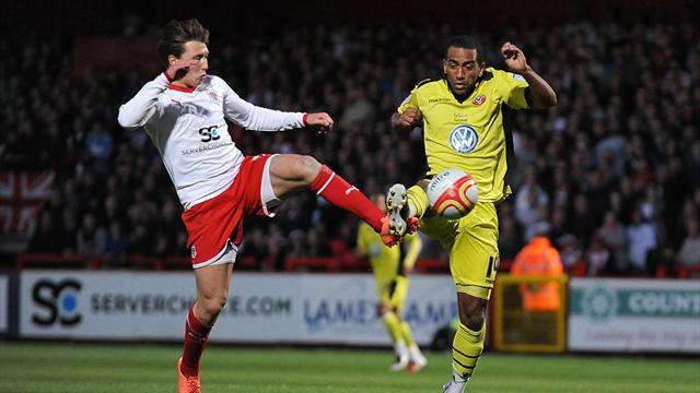 Blades hold Stevenage in play-offs