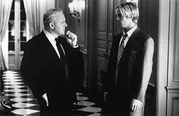 Anthony Hopkins and Brad Pitt in Universal's Meet Joe Black