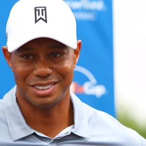 Tiger Woods news conference before The Greenbrier