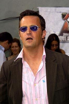 "Matthew Perry guest-starred on ""Growing Pains"" once as Carol's love interest.  It was a pretty sad story, because he died.  It was a very special episode. MTV Movie Awards - 6/5/2004"