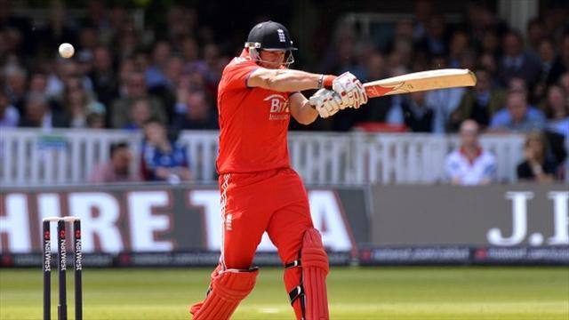 Cricket - England win toss, India to bat first in final