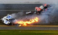 Daytona 500 Race To Go Ahead Despite Crash