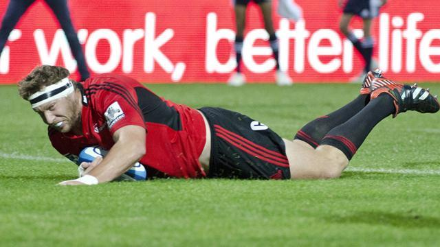 Super Rugby - Crusaders silence Lions roar with Ellis Park win