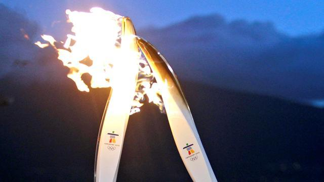 Winter Sports - Russian torchbearer dies after carrying flame in Sochi relay