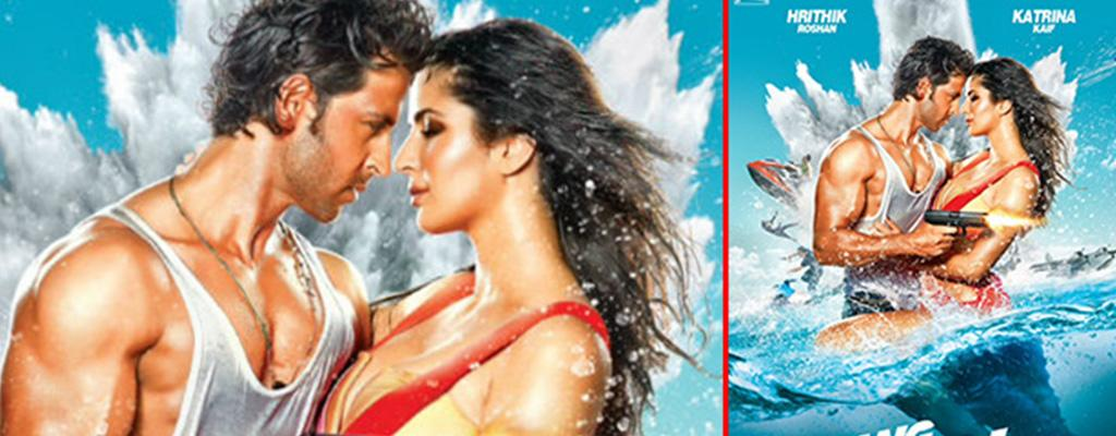 Bikini Clad Katrina Kaif In Bang Bang Movie Poster | Watch the video ...