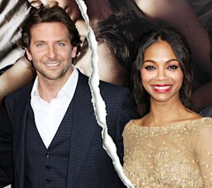 Bradley Cooper and Zoe Saldana Break Up for the Second Time
