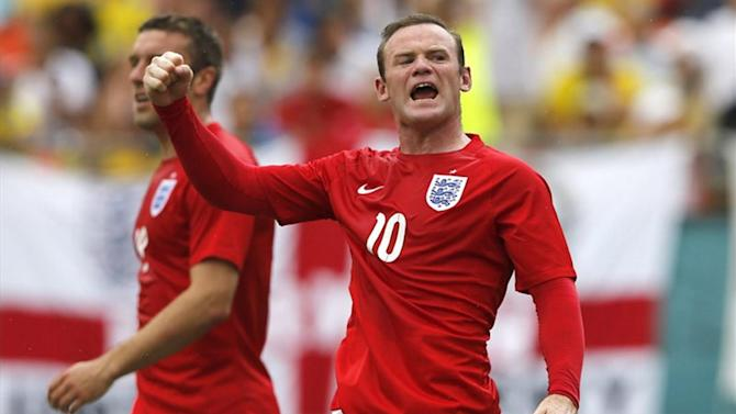 World Cup - Hoddle backs Rooney to deliver for England - if he can relax