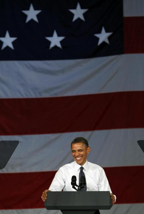 West Coast, il presidente Barack Obama in campagna raccolta fondi