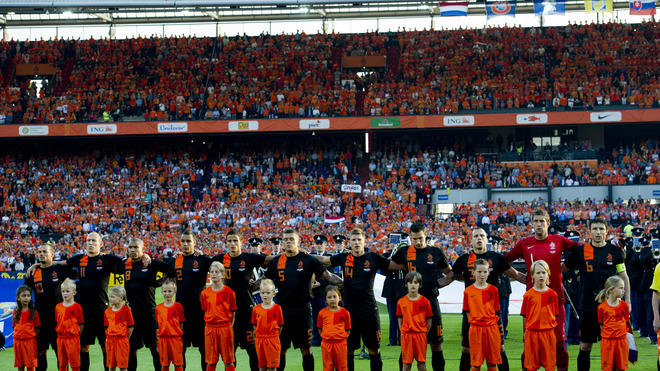 Netherlands Football Team Players AFP/Getty Images