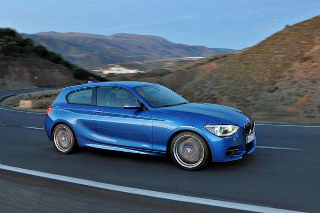 BMW M135i: 	Okay, it's visually challenged from some angles despite a subtle bodykit, but this 'junior' M car is such fun to drive and one of the surprises of 2012. It always feels fast thanks to a 31