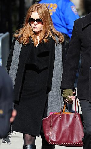 Valentino Promotes Amy Adams' Handbag She Wore to Philip Seymour Hoffman's Funeral