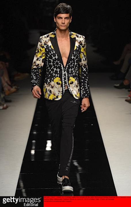 John Richmond - Mens Spring Summer 2013 Runway - Milan Menswear Fashion Week