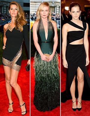 Gisele Bundchen, Kirsten Dunst and Emma Watson: Whose Met Gala Dress Was Skimpiest?
