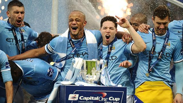 League Cup - Manchester City overcome spirited Sunderland at Wembley