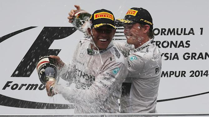Formula 1 - Hamilton moves on from Rosberg feud