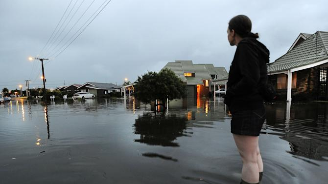 New Zealand farmers happy as deluge breaks drought