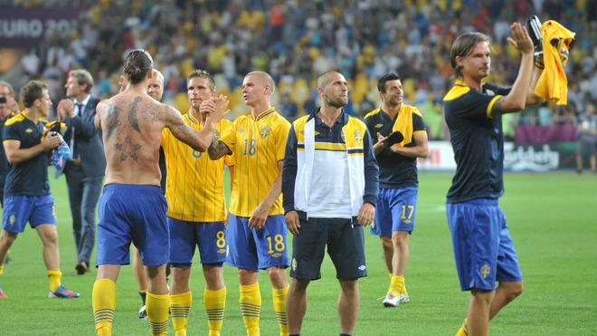 Swedish Players AFP/Getty Images