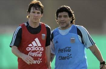 Maradona hoping Messi can inspire Argentina to World Cup glory