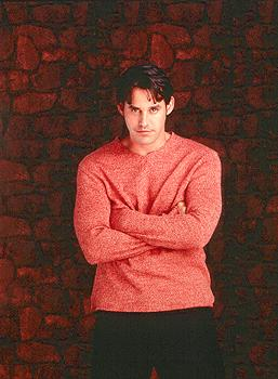 Nicholas Brendon as Xander on Buffy The Vampire Slayer