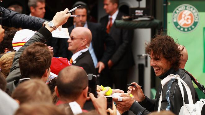 Rafael Nadal Of Spain Smiles Getty Images