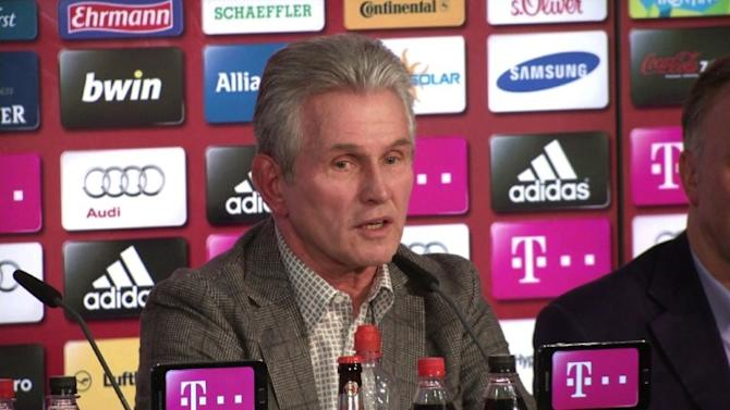 Treble-winning Heynckes leaves future open