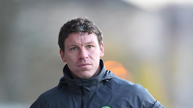 Alan Thompson has reached an agreement with Celtic over his dismissal