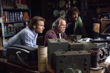 Steve Zahn , Joe Don Baker and Allen Covert in Paramount Pictures' Strange Wilderness