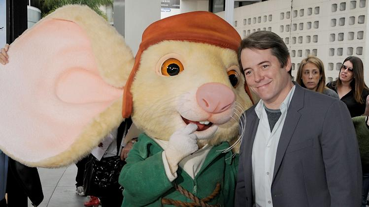 The Tale of Despereaux LA Premiere 2008 Matthew Broderick