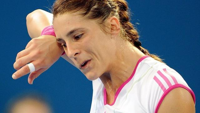 Tennis - Petkovic injury sees Australia beat Germany