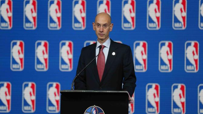 Silver delivers first press conference as NBA boss