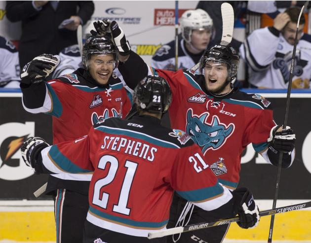 Kelowna beats Rimouski 7-3 in Memorial Cup