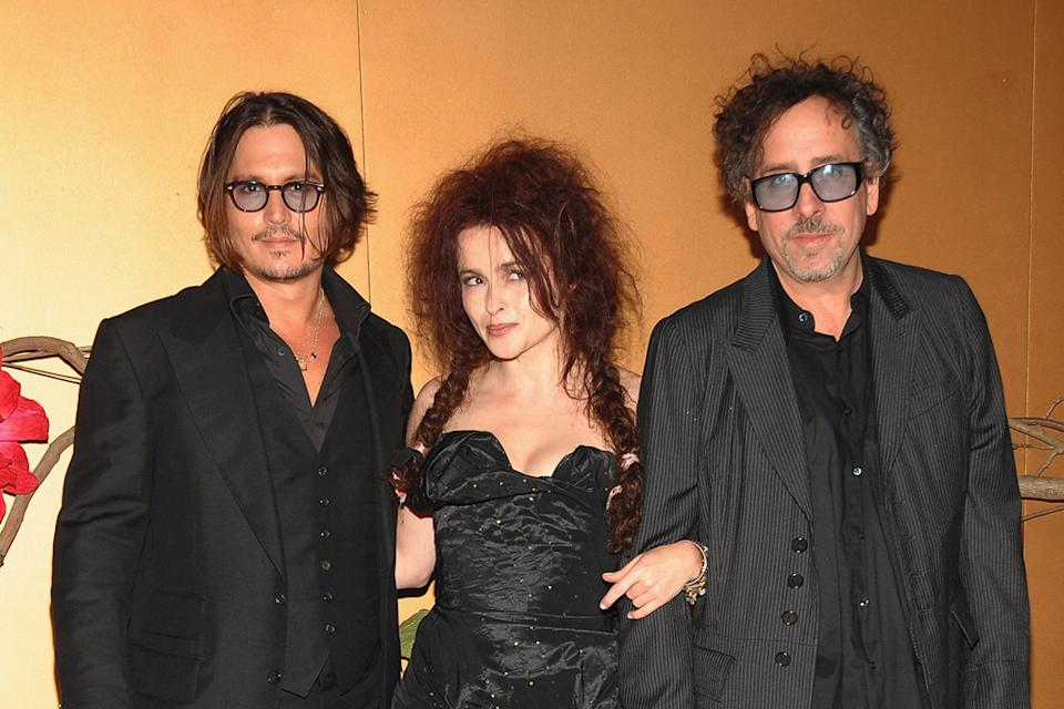 MOMA Tribute to Tim Burton 2009 Johnny Depp Helena Bonham Carter Tim Burton