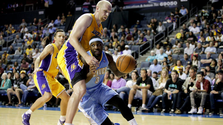 Nuggets Lakers Basketball