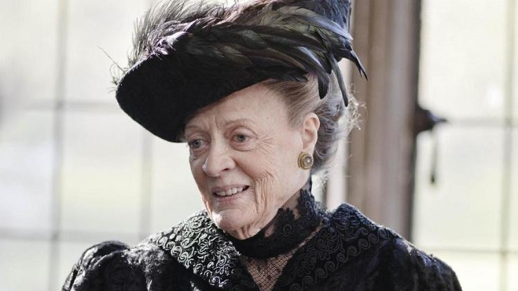 'Downton Abbey' Star Maggie Smith Has Yet to Watch an Episode
