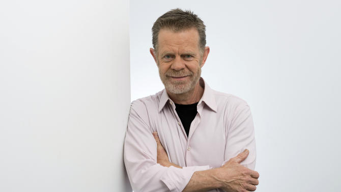 """This Jan. 9, 2013 photo shows American actor William H. Macy from the Showtime television series, """"Shameless,""""  in New York. (Photo by Scott Gries/Invision/AP)"""
